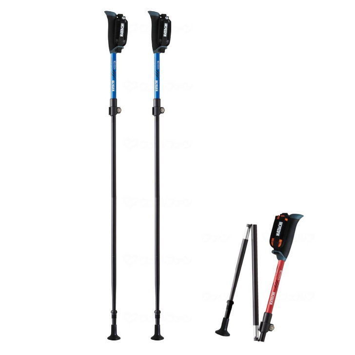 介護用品 福祉用具 歩行関連 杖 伸縮式 デポー ウォーキング おしゃれ DFP 自立 ポータブルセクター2 2本1組 プレゼント 軽量 激安超特価