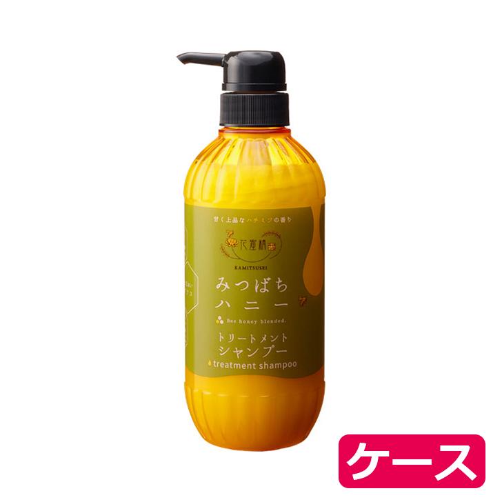 花蜜精みつばちハニートリートメントシャンプー / 00110877 500mL(ケース販売:15本入)