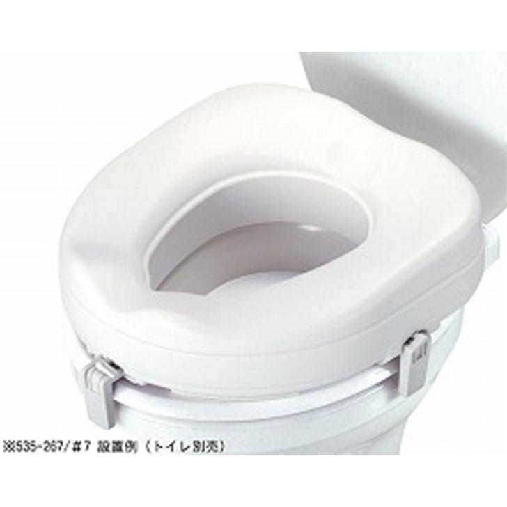 アロン化成 安寿 補高便座 / 535-270 補高10cm