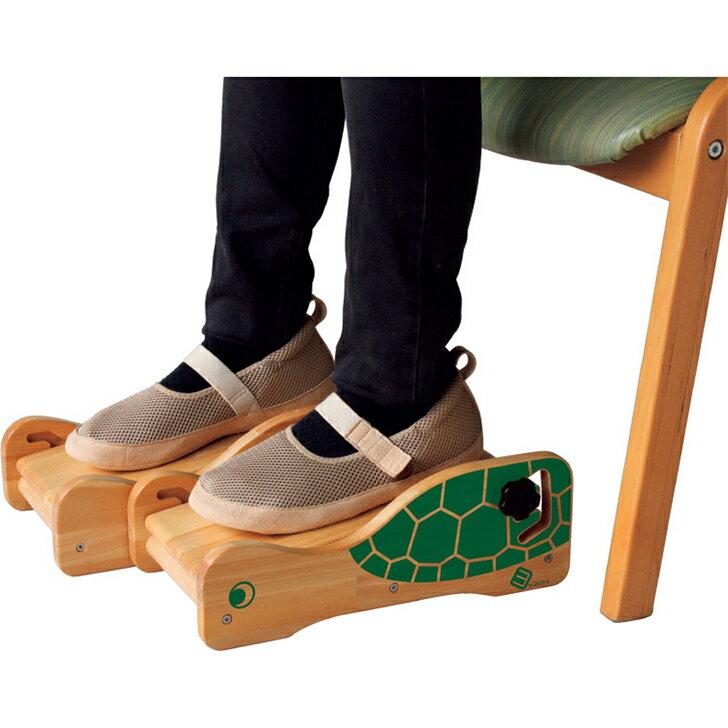 【車椅子用 クッション 車いす 介護 福祉 腰痛】ヨッコイショシリーズ 足の裏ささえ隊 / 左右独立調整タイプ