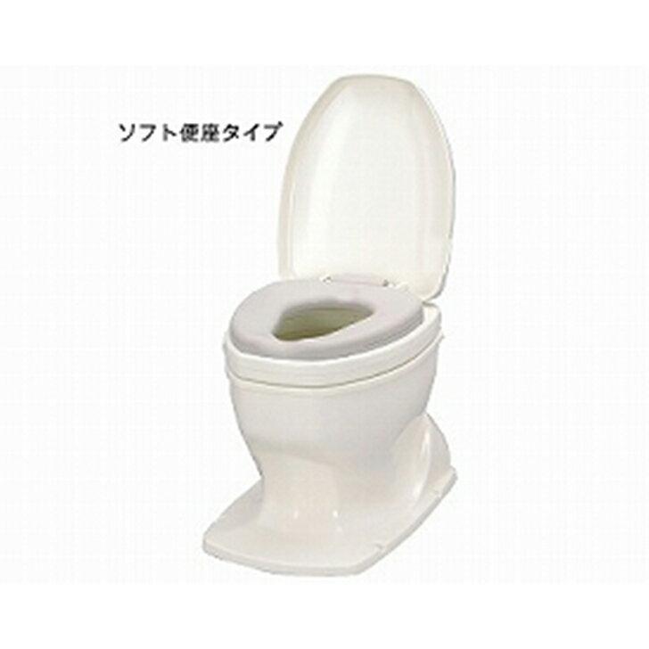 アロン化成 安寿 サニタリエース OD 据置式 ソフト便座タイプ / 871-118 補高#8
