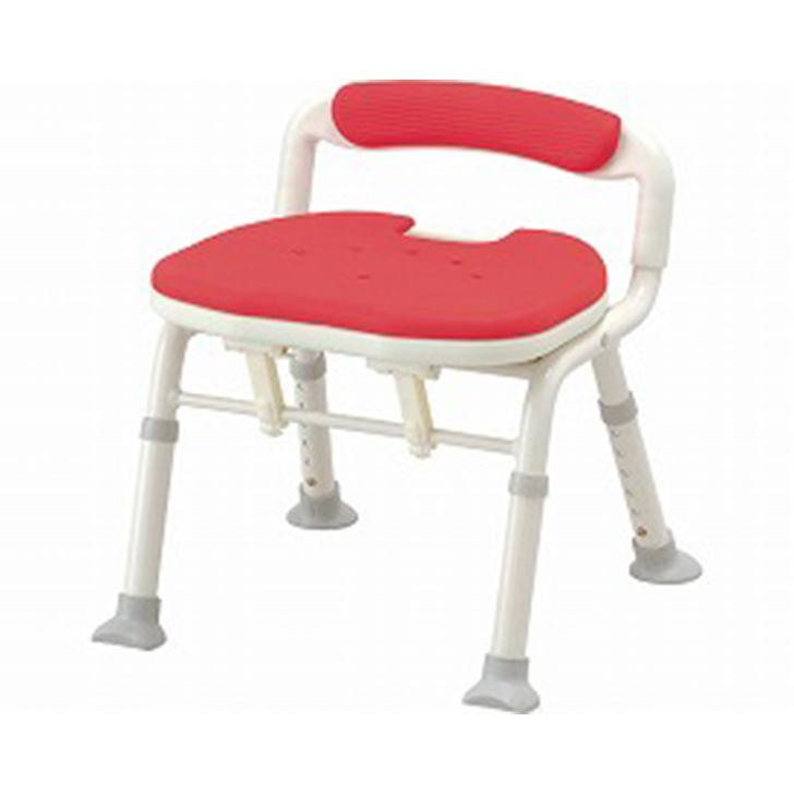 【介護 椅子 風呂 シャワー チェアー】安寿 コンパクト折りたたみシャワーベンチ IC 骨盤サポートタイプ