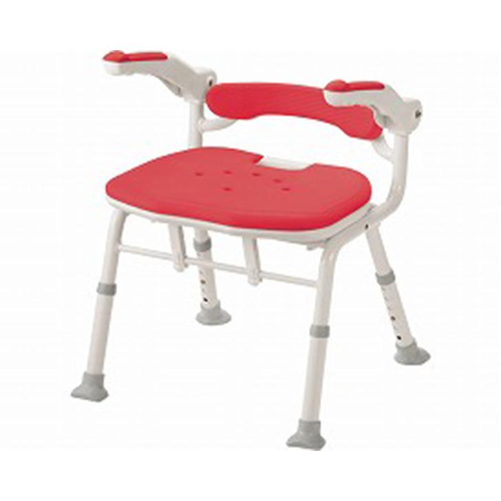 【介護 椅子 風呂 シャワー チェアー】安寿 折りたたみシャワーベンチ ISフィット 骨盤サポートタイプ