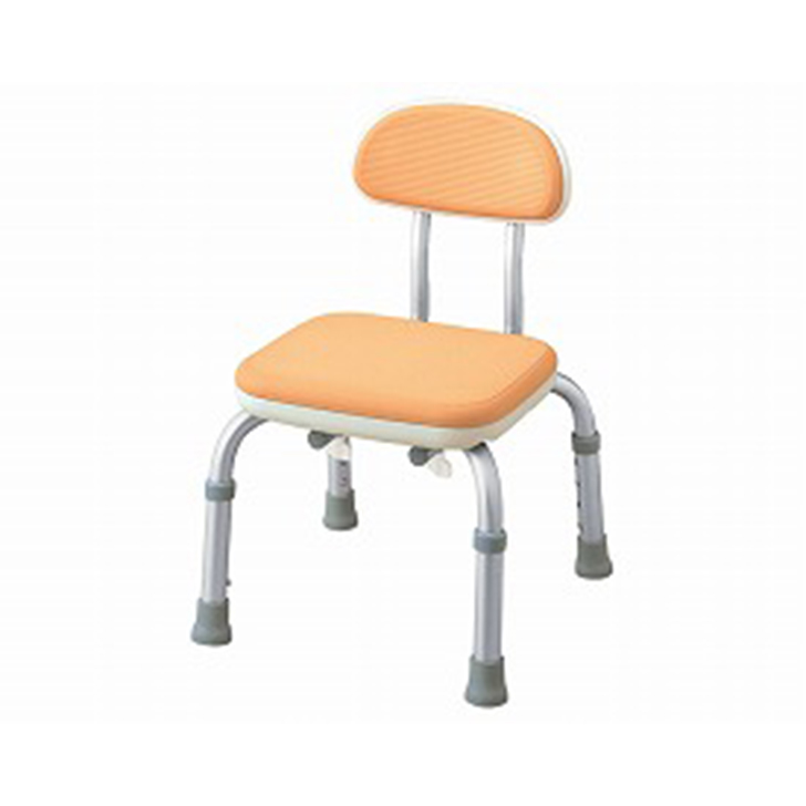 【介護 椅子 風呂 シャワー チェアー】背付シャワーベンチMini S / 536-201