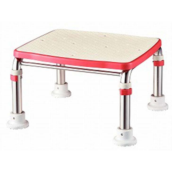 【介護 椅子 風呂 シャワー チェアー 浴槽台】アロン化成 安寿 ステンレス製浴槽台Rジャスト 20-30