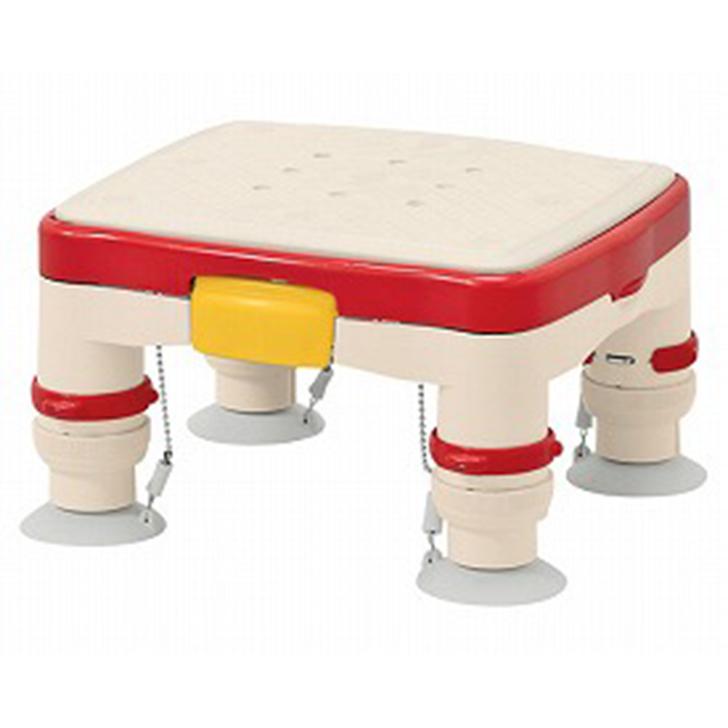 """【介護 椅子 風呂 シャワー チェアー 浴槽台】安寿 高さ調節付浴槽台R""""かるぴったん""""ミニ すべり止めシートタイプ"""