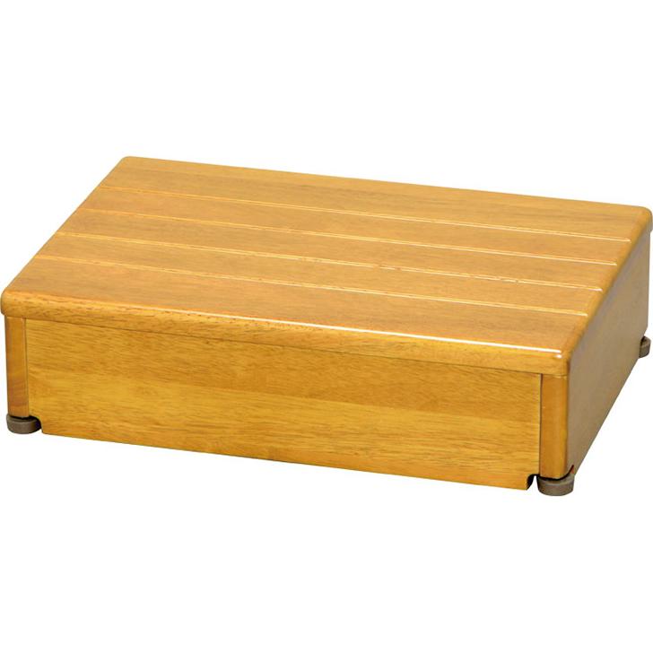安寿 木製玄関台 1段タイプ 45W-30-1段