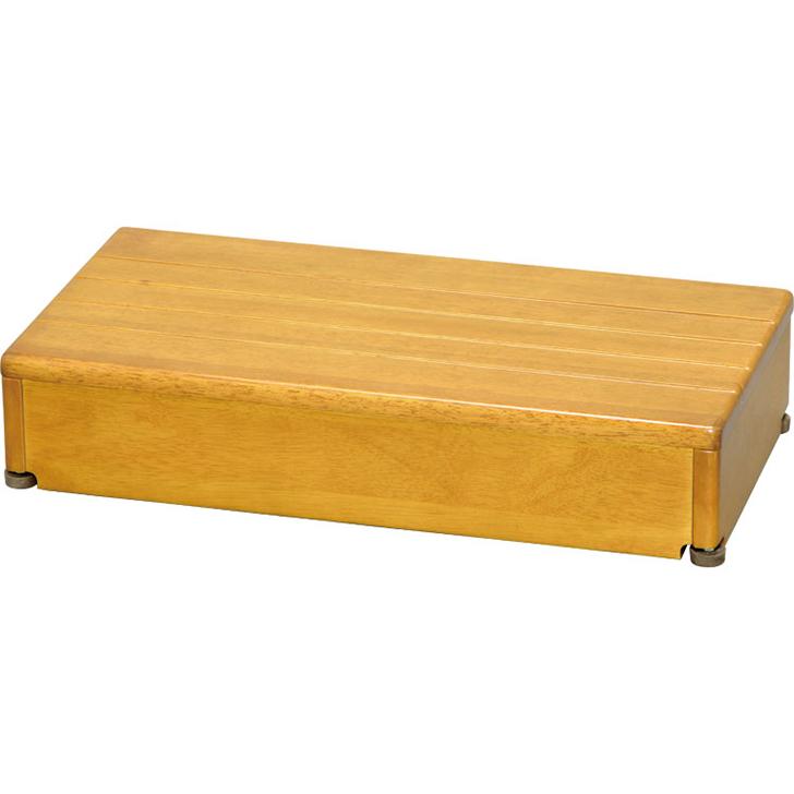 アロン化成 安寿 木製玄関台 1段タイプ 60W-30-1段