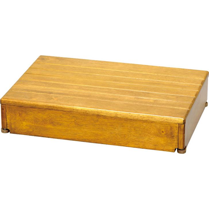 アロン化成 安寿 木製玄関台 1段タイプ 60W-40-1段