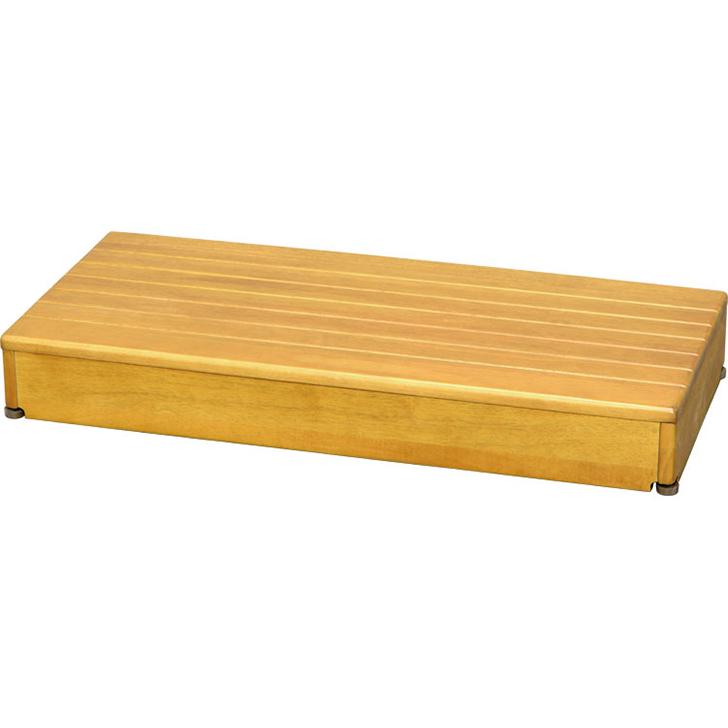 アロン化成 安寿 木製玄関台 1段タイプ 90W-40-1段