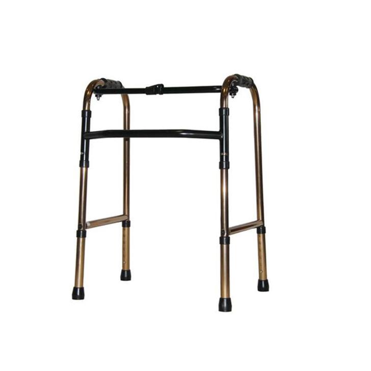 【歩行器 介護 介護用 老人 自立】折りたたみ式歩行器 C2021-BR