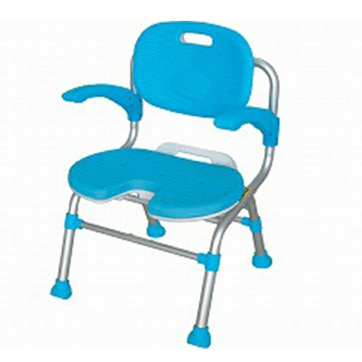 【介護 椅子 風呂 シャワー チェアー】幸和製作所 テイコブ シャワーチェア 座面U字型タイプ / SCU01
