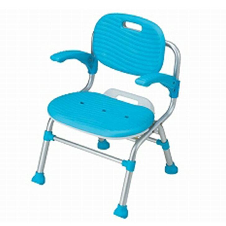 【介護 椅子 風呂 シャワー チェアー】幸和製作所 テイコブ シャワーチェア 背・肘掛け付タイプ / SC01