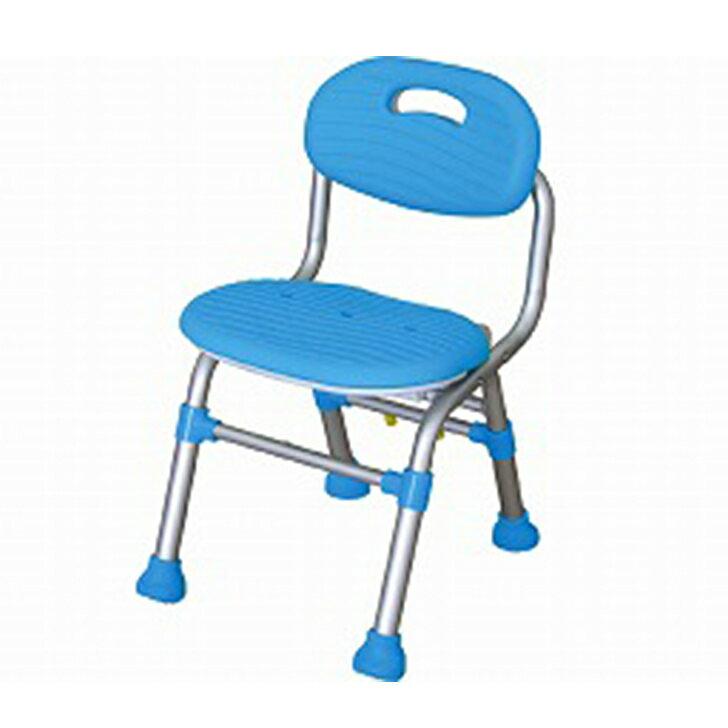 【介護 椅子 風呂 シャワー チェアー】幸和製作所 テイコブ シャワーチェア 背付きコンパクトタイプ / SCM03