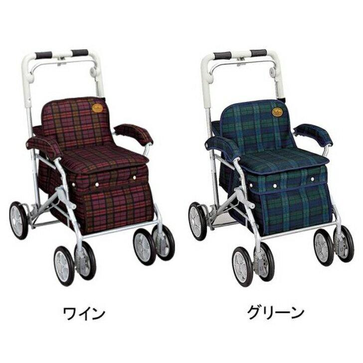 【手押し 車 シルバーカー 老人 自立 介護】須恵廣工業 ユーメイトGX