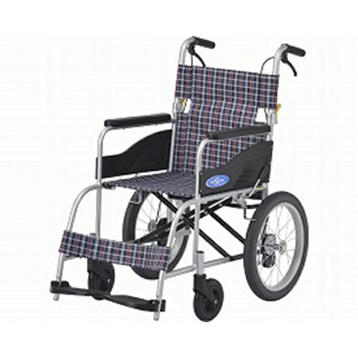 【車椅子 車いす 介助用 軽量 折りたたみ アルミ】アルミ介助車いす NEO-2 / 座幅40cm