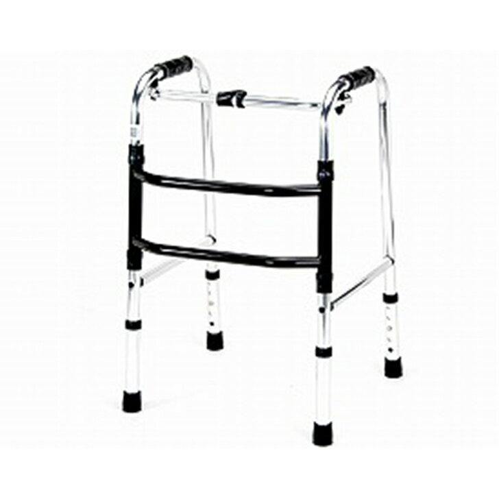 【手押し 車 歩行器 老人 自立 介護】歩行器 ミニタイプ 交互型 / HKM-200