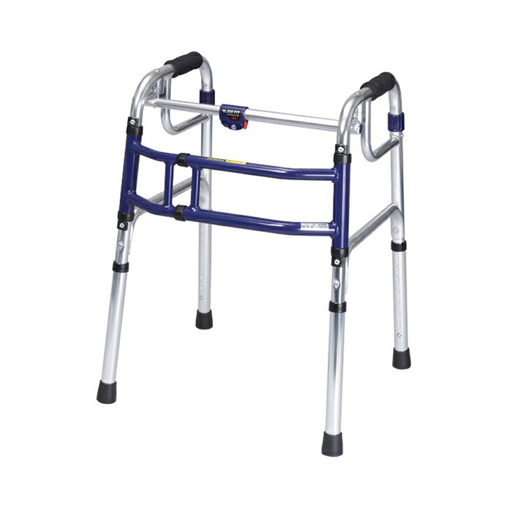 【歩行器 介護 介護用 老人 自立】スライドフィット 固定式 スタンダード / H-0188 Hタイプ