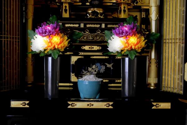 【限定クーポン】燈花 光る仏花 1対セット