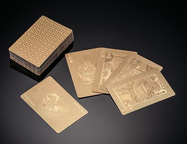 純金箔トランプ
