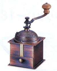 【限定クーポン】カリタ・手挽きコーヒーミル コーヒーミルK-1 (42051)硬質鋳鉄製臼刃使用 本体純銅製 (K)