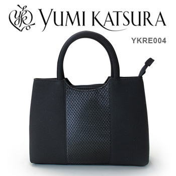 【限定クーポン】桂由美 ブラックフォーマルバッグ YKRE004