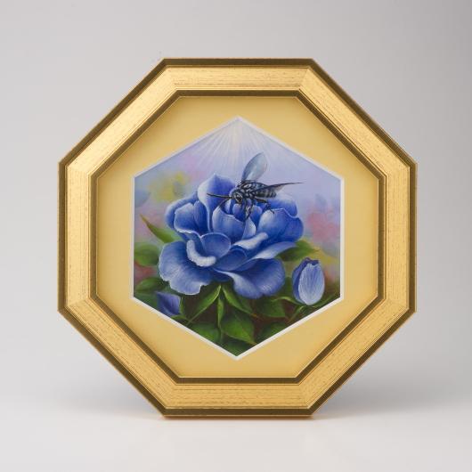 【限定クーポン】開運アート 幸せの青い蜂 ブルービー