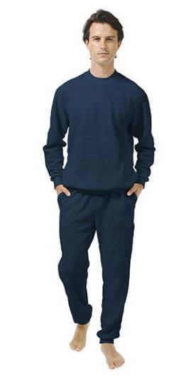 【直送品】【代引き不可】ひだまり スエットスーツ 上下組 冷え性対策 冷え性対策グッズ 寒さ対策 防寒グッズ 防寒対策