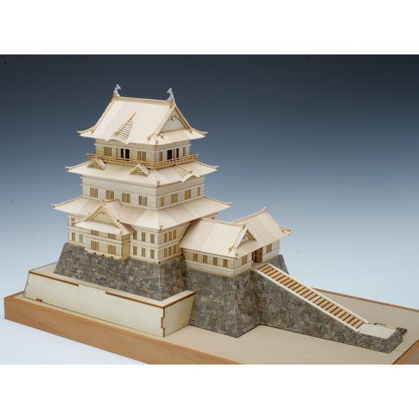 【直送品】【代引き不可】木製建築模型 1/150 小田原城 建物 模型 プラモデル 木製建築模型キット 木製模型 情景模型作り 木製建築 模型 建築模型 ジオラマ模型