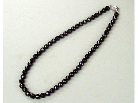 【限定クーポン】【送料無料】備長炭ネックレス 8mm珠