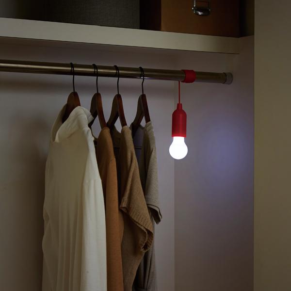 【限定クーポン】どこでも吊せるLEDライト×7個セット