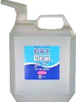 【限定クーポン】超電水クリーンシュ!シュ! 業務用4リットル マルチクリーナー 洗剤 掃除 除菌 電解アルカリイオン水