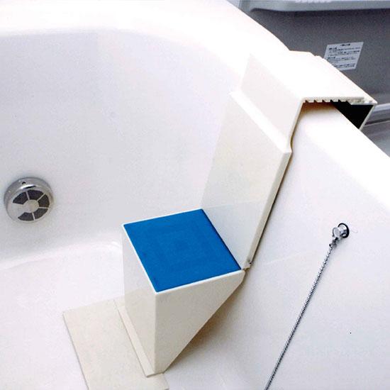 【直送品】【代引き不可】浴槽用ワンタッチステップ NEWタイプ K7512