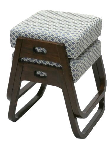 座・楽椅子 2脚組