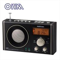 【直送品】【代引き不可】OHM 07-7941 書斎ラジオ ワイド 黒・金 RAD-T941Nご注文後2~3営業日後の出荷となります