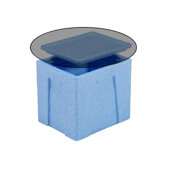 【直送品】【代引き不可】三甲 サンコー EPボックス♯24-3 本体 ブルー 760252ご注文後2~3営業日後の出荷となります