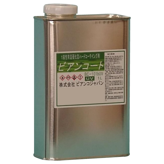 【直送品】【代引き不可】ビアンコジャパン(BIANCO JAPAN) ビアンコートB ツヤ有り(+UV対策タイプ) 1L缶 BC-101b+UVご注文後2~3営業日後の出荷となります