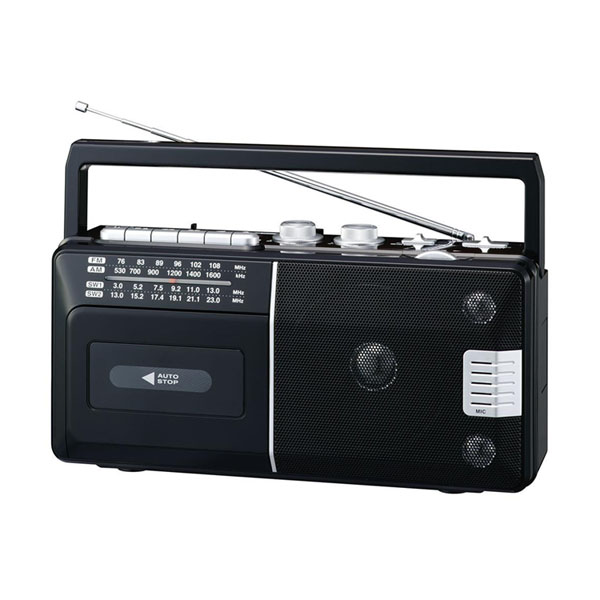【直送品】【代引き不可】ELPA(エルパ) ラジオカセットレコーダー ADK-RCR300ご注文後3~4営業日後の出荷となります