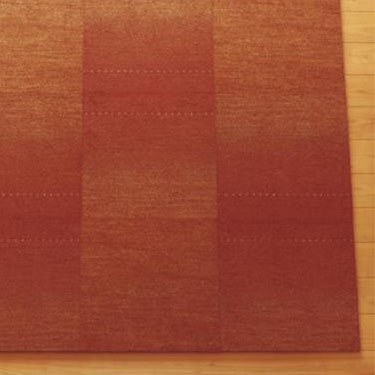 【直送品】【代引き不可】川島織物セルコン Unit Rug(ユニットラグ) ギャベ グラデーション 50×50cm 6枚入りご注文後3~4営業日後の出荷となります