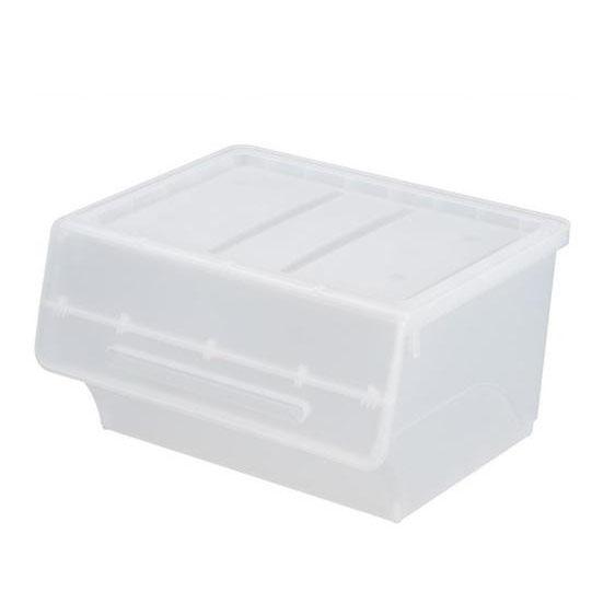 【直送品】【代引き不可】froq フロック 収納ケース ワイド30 クリア 6個組 fr-W30CLご注文後3~4営業日後の出荷となります