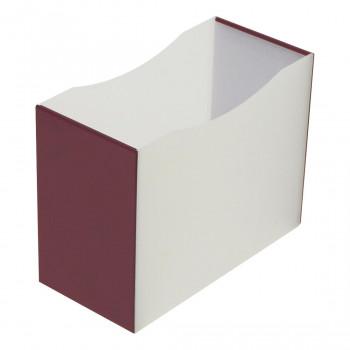 シンプルな収納ボックス 一部予約 直送品 代引き不可 ナカバヤシ FB-MP4-DRご注文後3~4営業日後の出荷となります ダークレッド シンプルラインミニ OUTLET SALE ミニボックスE4