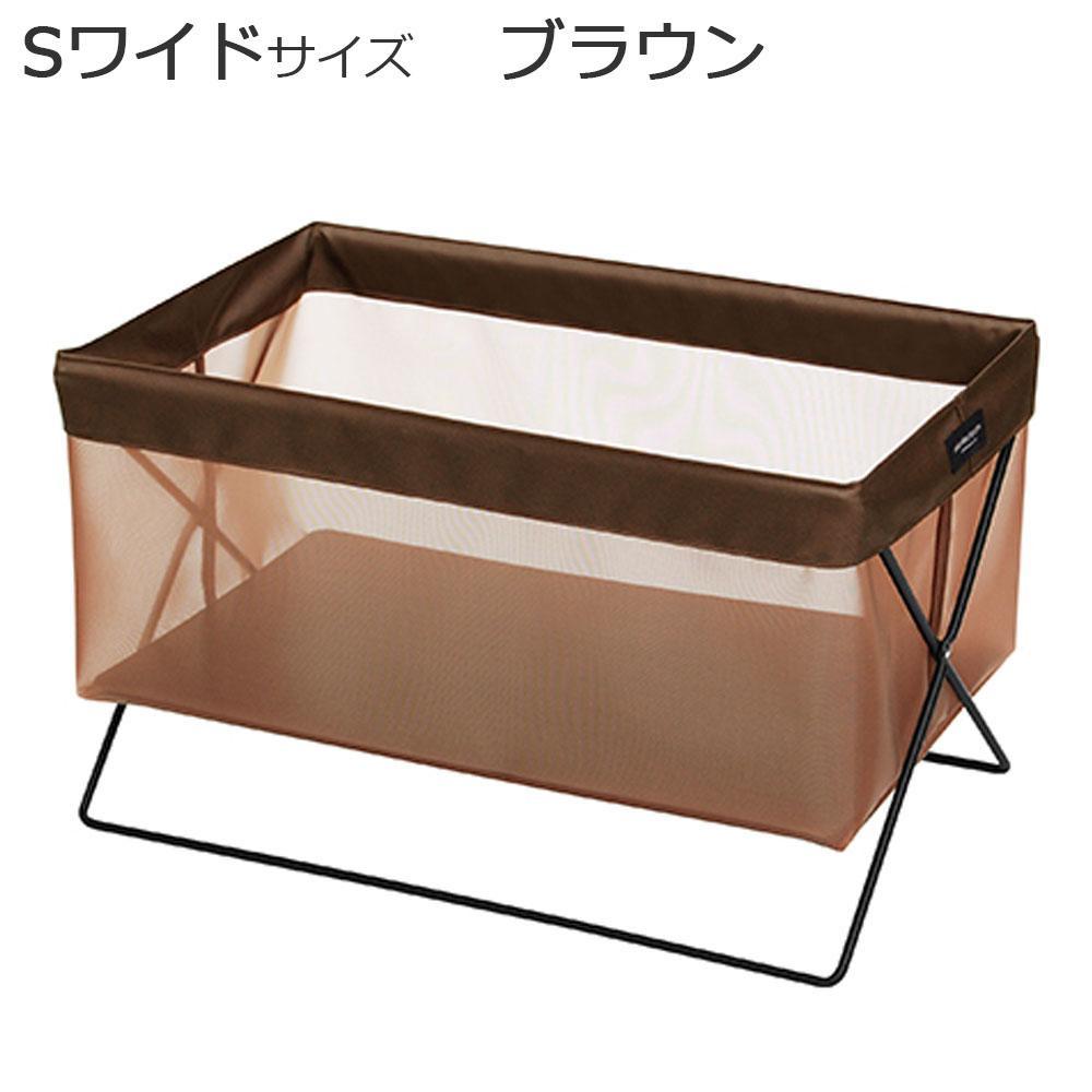 【直送品】【代引き不可】日本製 SAKI(サキ) サイドワゴン メッシュ Sワイドサイズ R-322 ブラウンご注文後3~4営業日後の出荷となります