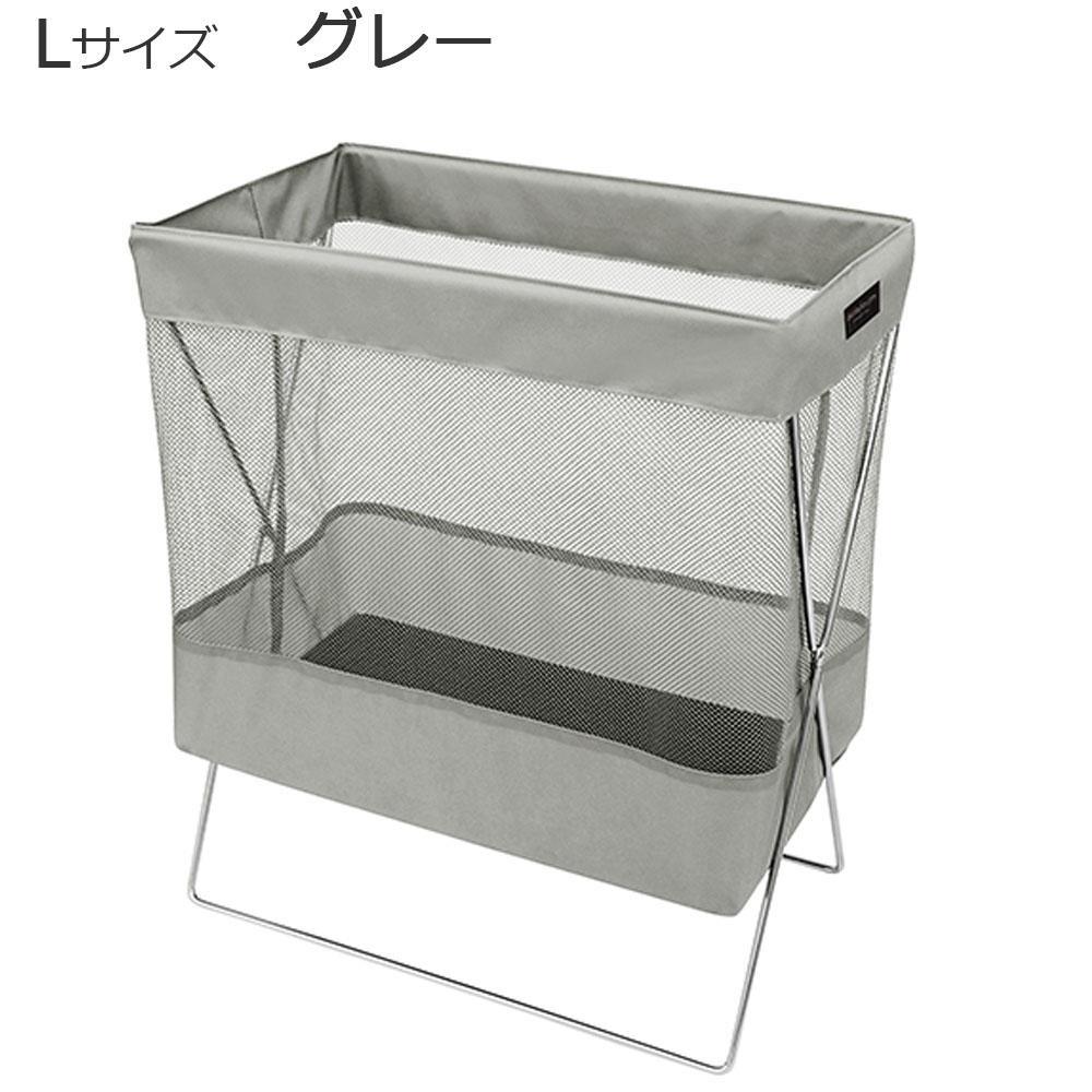 【直送品】【代引き不可】日本製 SAKI(サキ) サイドワゴン メッシュ Lサイズ R-330 グレーご注文後3~4営業日後の出荷となります