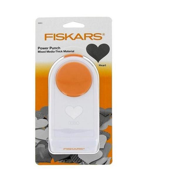 【直送品】【代引き不可】Fiskars(フィスカース) パワーパンチ XL ハート 1020494(4109489)ご注文後3~4営業日後の出荷となります
