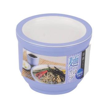 日常にひと工夫を ついに再販開始 直送品 代引き不可 パール金属 薬味皿付ブルー 麺つゆカップ HB-650ご注文後3~4営業日後の出荷となります 彩創 国内在庫