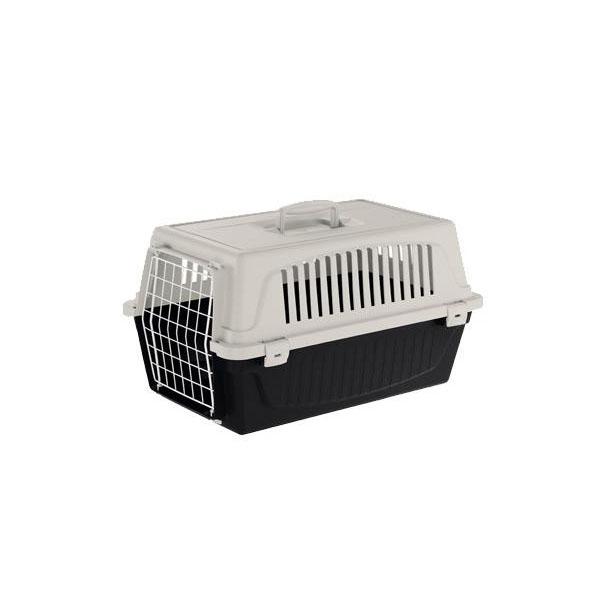 【直送品】【代引き不可】ferplast(ファープラスト) 犬・猫用ハードキャリー Atlas30EL (アトラス30EL) ブラック・73009717FWご注文後2~3営業日後の出荷となります