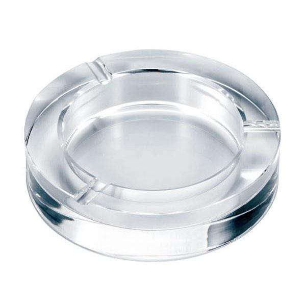 【直送品】【代引き不可】ペンギン 卓上灰皿 クリスタルガラス灰皿 サークルカットご注文後3~4営業日後の出荷となります