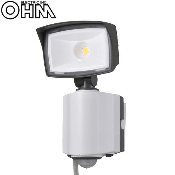 【直送品】【代引き不可】オーム電機 OHM 1灯式LEDセンサーライト OSE-LS1200ご注文後2~3営業日後の出荷となります