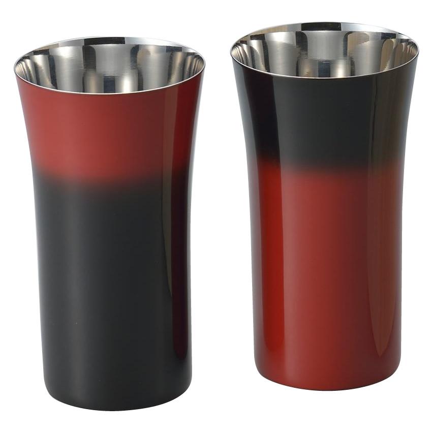 【直送品】【代引き不可】漆磨 シングルカップS(1客) 手塗り仕上げご注文後3~4営業日後の出荷となります
