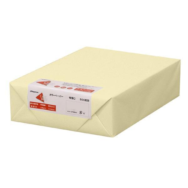 【直送品】【代引き不可】長門屋商店 カラーペーパー B5 特厚口 レモン 500枚パック ナ-4452ご注文後3~4営業日後の出荷となります